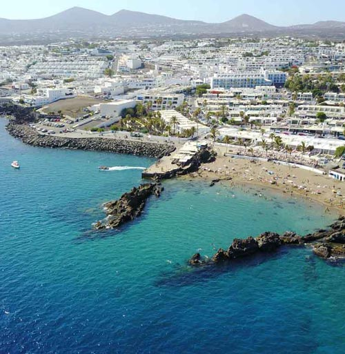 Playa Chica - the home of diving in Lanzarote | Manta Diving Lanzarote