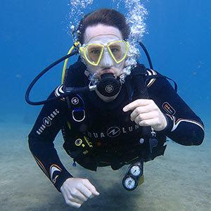 Kieran PADI Advanced open water course lanzarote | Manta Diving Lanzarote