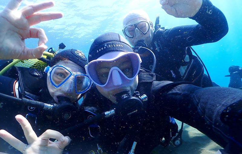 Open Water Course Lanzarote | Learn to scuba dive | Manta Diving Lanzarote