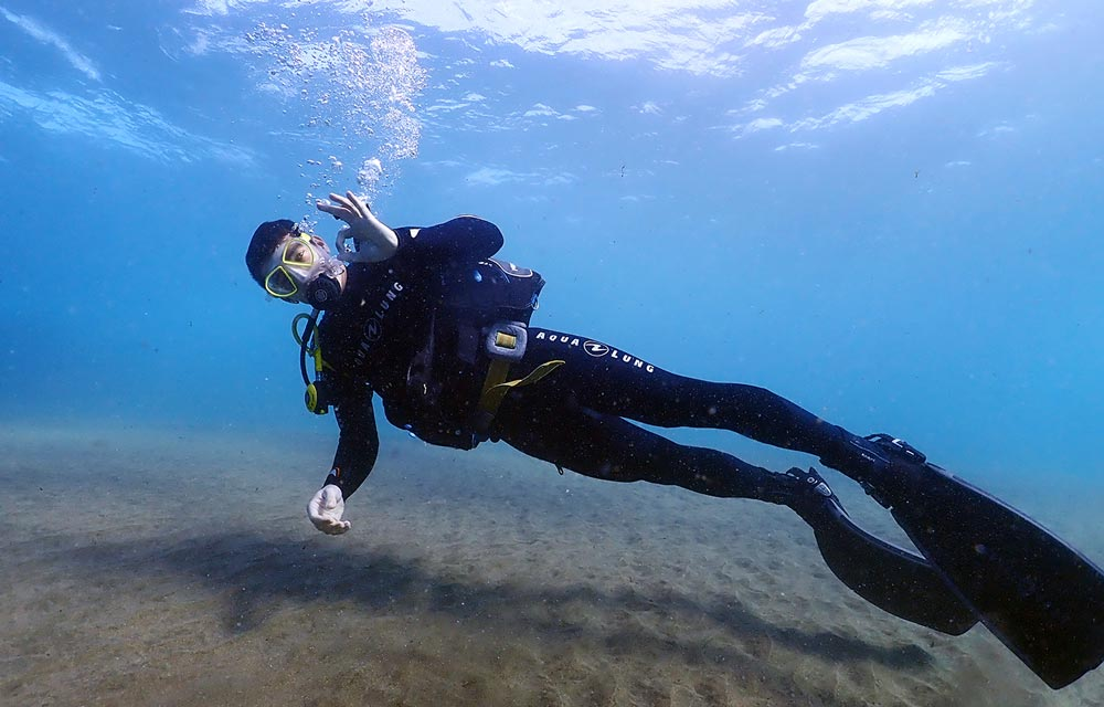 PADI Open Water Lanzarote | Diving Course Lanzarote