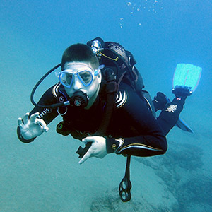Paul PADI Scuba Course Review Lanzarote