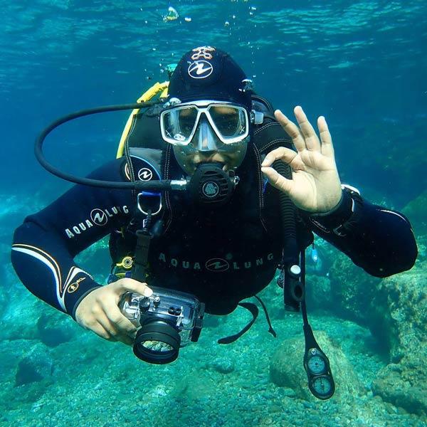 PADI Photography Course   Digital underwater photography   Manta Dive Centre Puerto Del Carmen