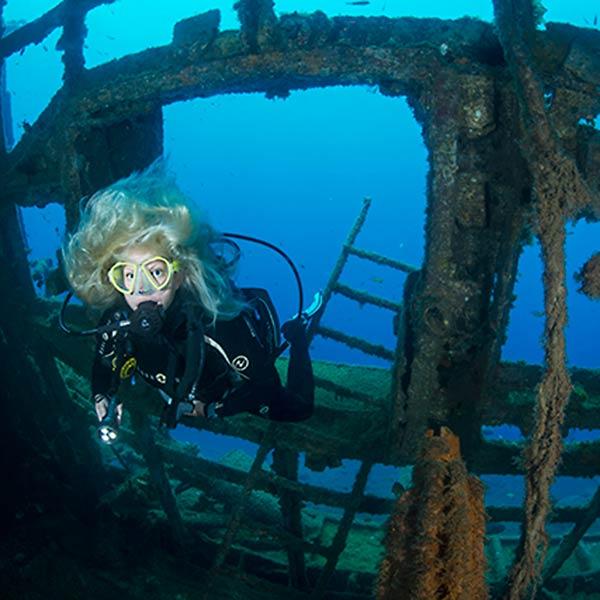 PADI Wreck Course Lanzarote | Lanzarote Dive Centre