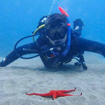 Diving for the first time lanzarote | Lanzarote Dive Centre PADI
