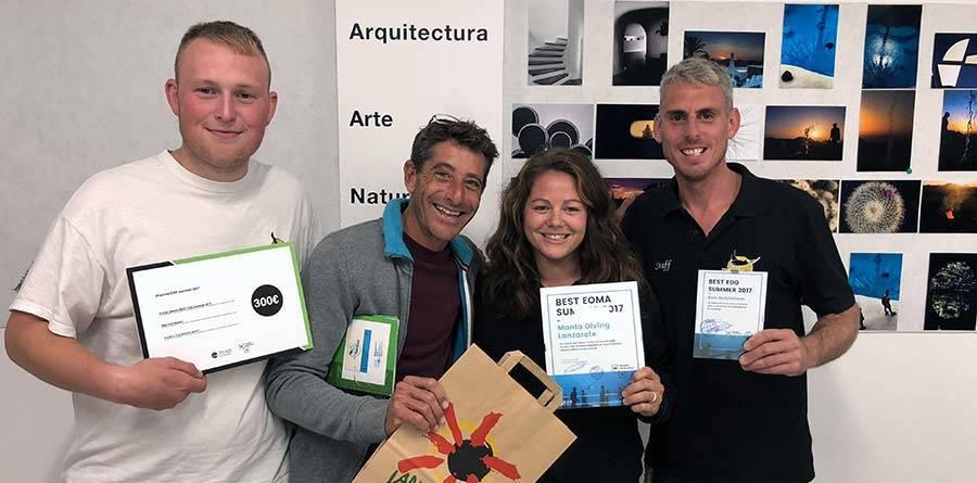 Best Dive Centre Lanzarote Museo Atlantico Award