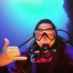 Dive Lanzarote - Rachel - Manta Diving Lanzarote