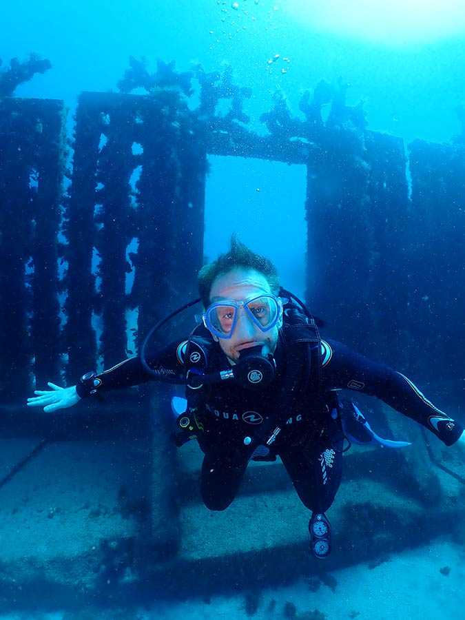Dive the Underwater Museum in Playa Blanca | Manta Diving Lanzarote