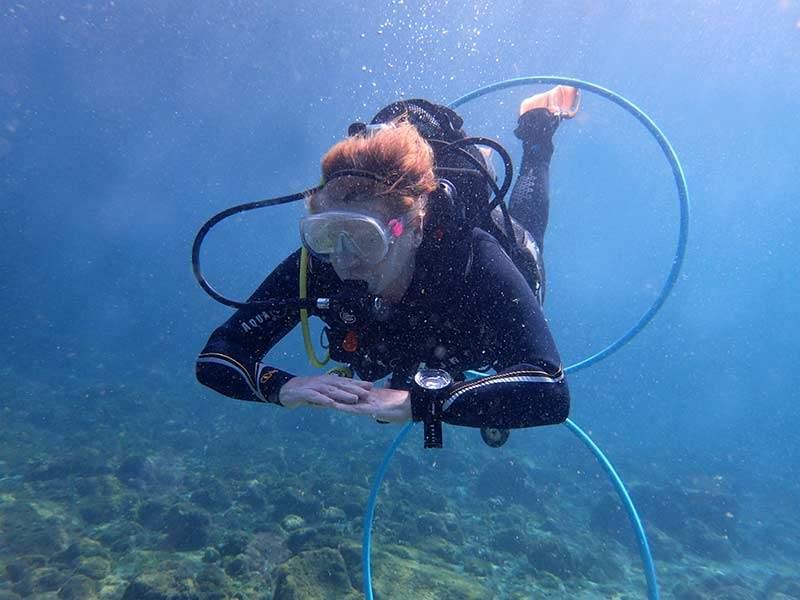 PADI Peak Performance Buoyancy course with Manta Diving Lanzarote | Scuba diving in Lanzarote