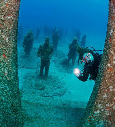 Underwater museum Lanzarote | Museo Atlantico