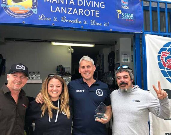 Diving Lanzarote | PADI Award winning 5* Dive Centre Puerto Del Carmen
