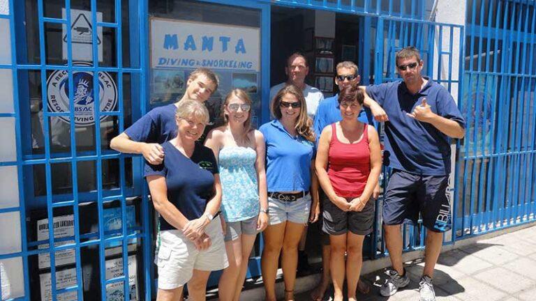 Manta Diving Lanzarote Dive Centre in 2011