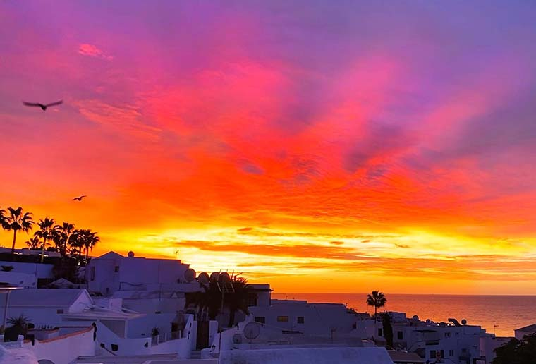 Visit Lanzarote to see the epic sunsets and sunrises