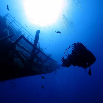 PADI Advanced Course Wreck Dive Lanzarote