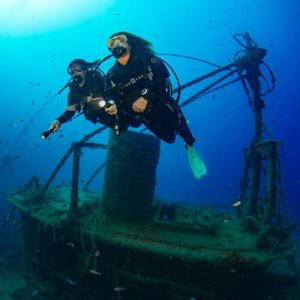 Dive the Harbour Wrecks in Lanzarote - Wreck Diving Puerto Del Carmen